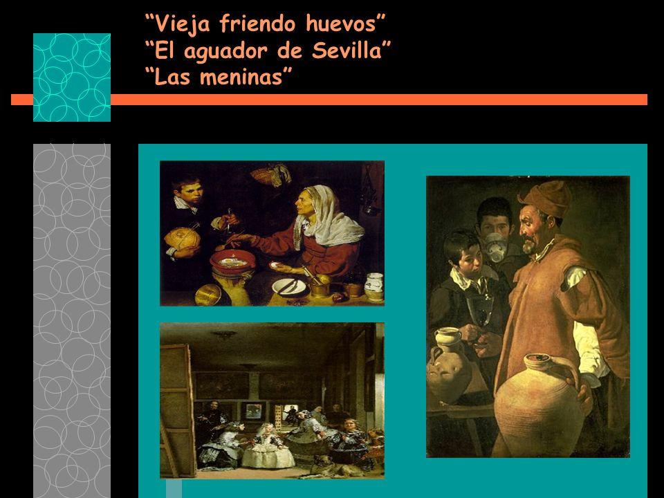 Vieja friendo huevos El aguador de Sevilla Las meninas