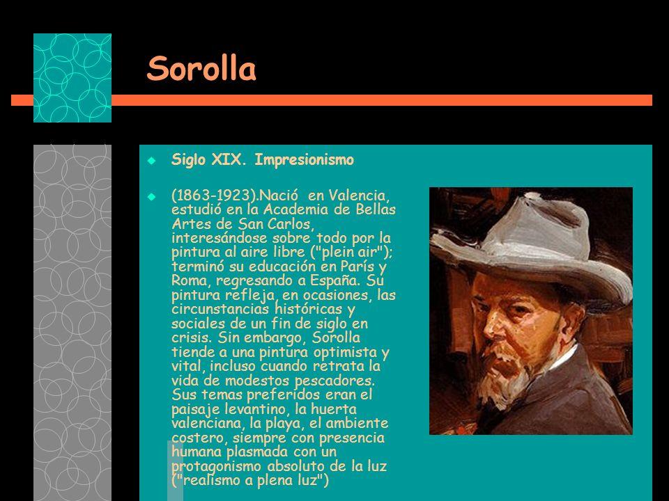 Sorolla Siglo XIX.
