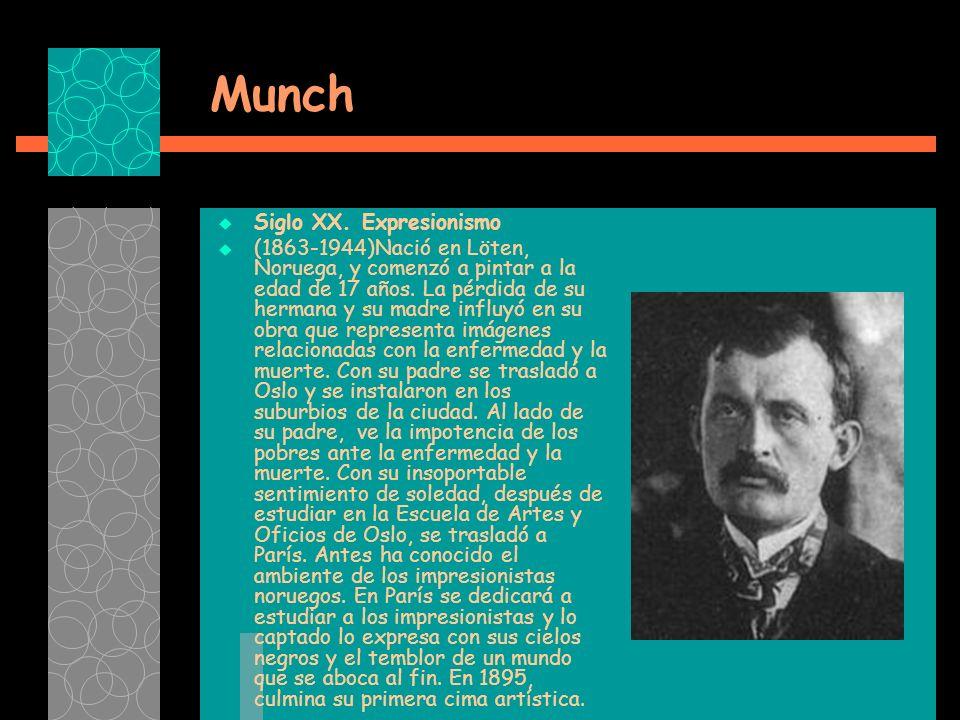 Munch Siglo XX.
