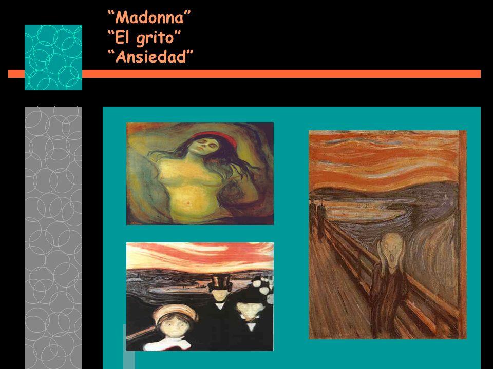 Madonna El grito Ansiedad