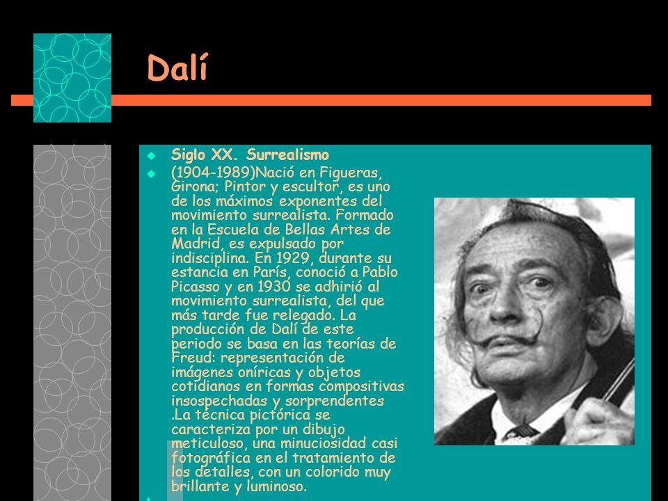 Dalí Siglo XX.