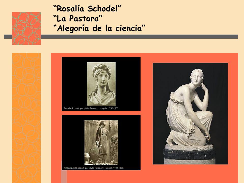 Rosalía Schodel La Pastora Alegoría de la ciencia