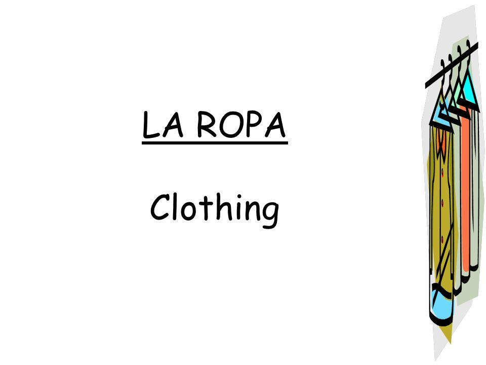 la camiseta – the T-shirt