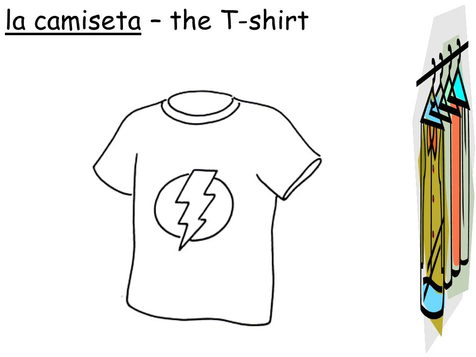 la camiseta – the T-shirt
