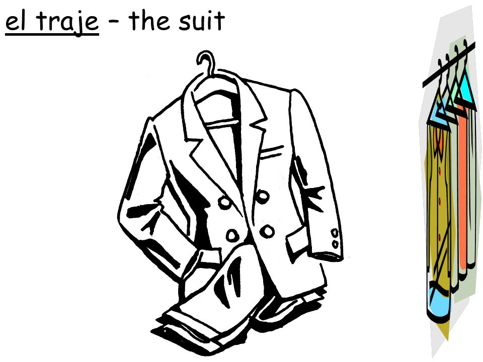 el traje – the suit