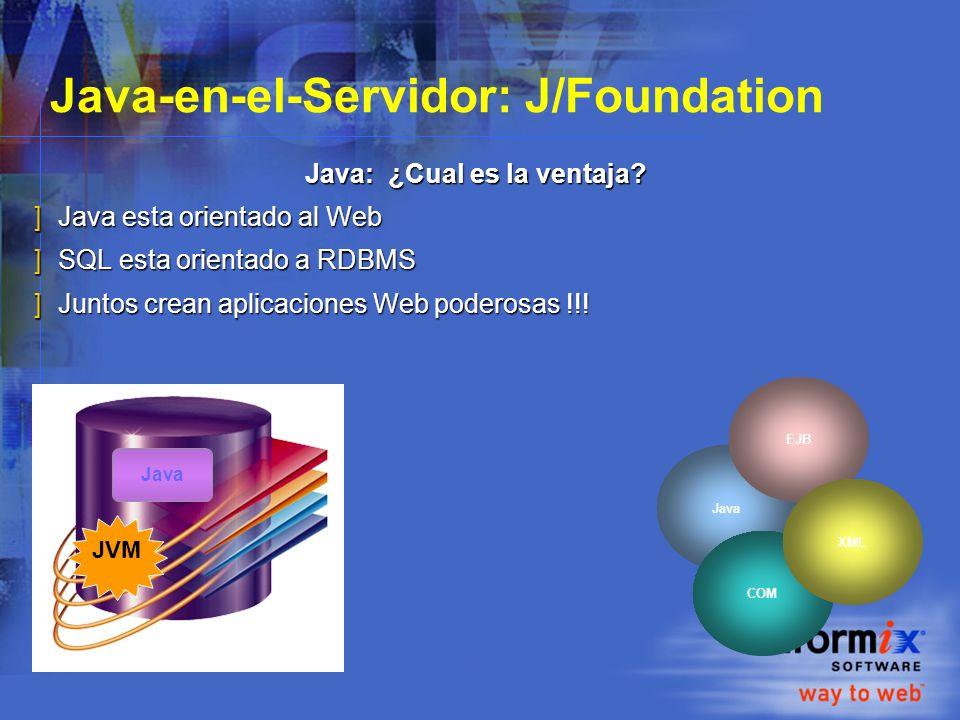Java-en-el-Servidor: J/Foundation Java: ¿Cual es la ventaja.