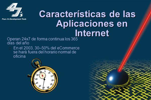 0% 10%20%30%40%50%60%70%80%90% Por que se decidió por Comercio Electrónico? Source: IDC Web Sellers survey 10/98 Llegar a nuevos clientes Mejorar la l