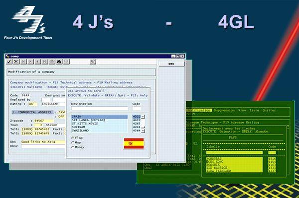 Por qué 4Js ? Con 4Js el 4GL sigue siendo una opción seria para el desarrollo de aplicaciones de misión crítica Permite migrar directamente las aplica