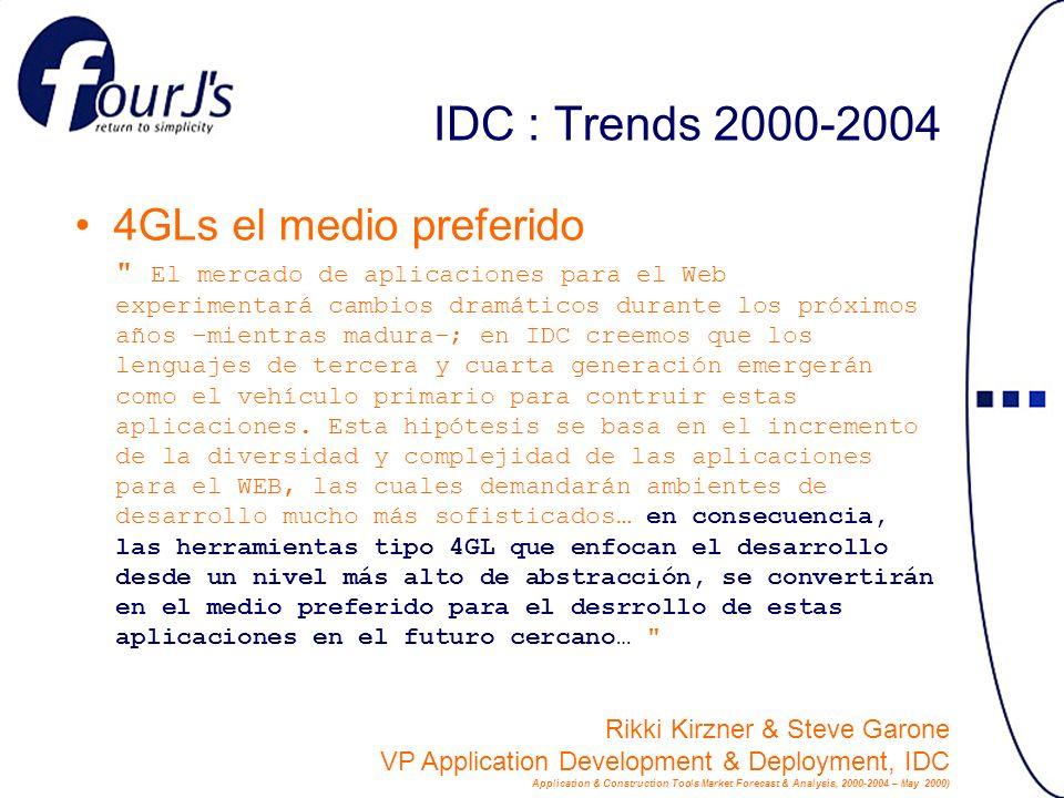 IDC : Trends 2000-2004