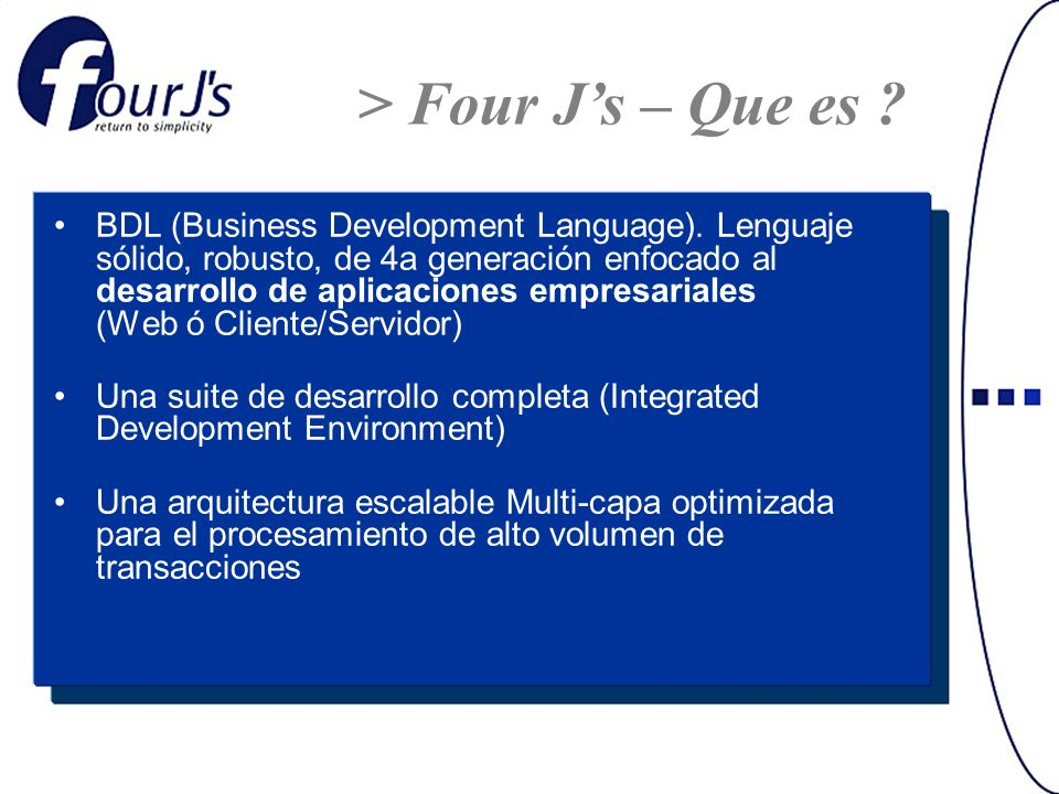 BDL (Business Development Language).