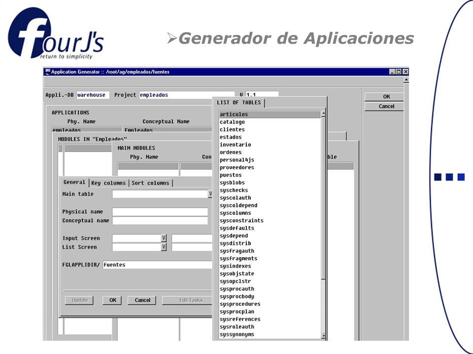 Generador de Aplicaciones