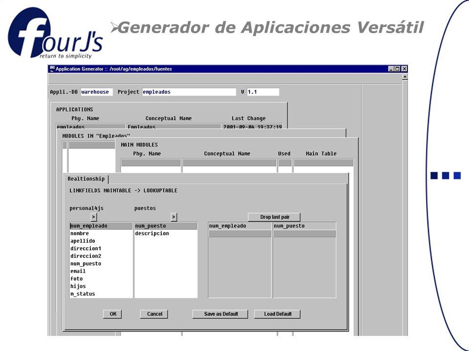 Generador de Aplicaciones Versátil