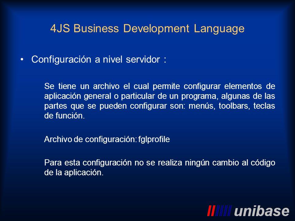 Configuración a nivel servidor : Se tiene un archivo el cual permite configurar elementos de aplicación general o particular de un programa, algunas d