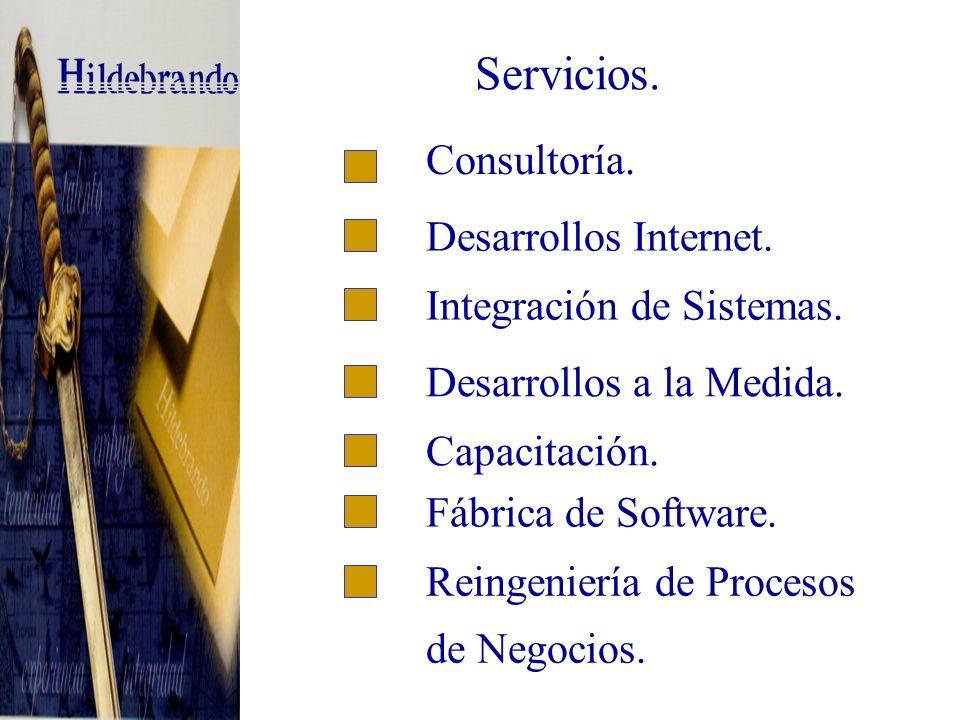 II.- Servicios.