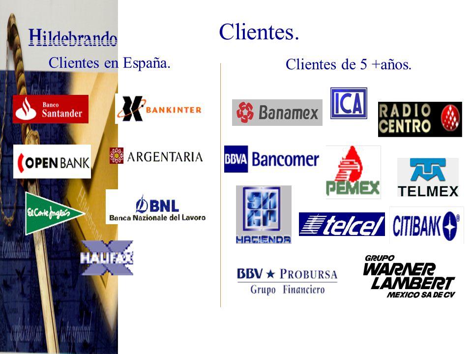 Telecomunicaciones y Medios Clientes diversos.