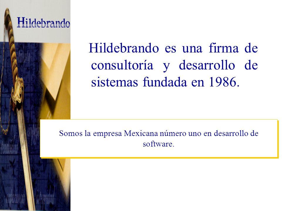 Hildebrando es una firma de consultoría y desarrollo de sistemas fundada en 1986.
