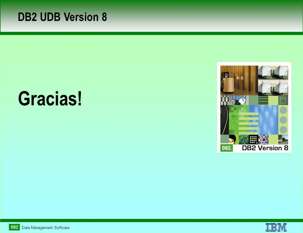 Data Management Software DB2 UDB Version 8 Gracias!