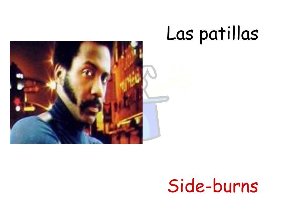 Las patillas Side-burns