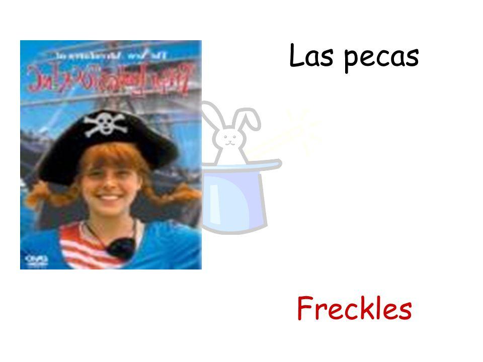 Las pecas Freckles