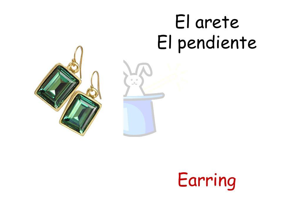 El arete El pendiente Earring