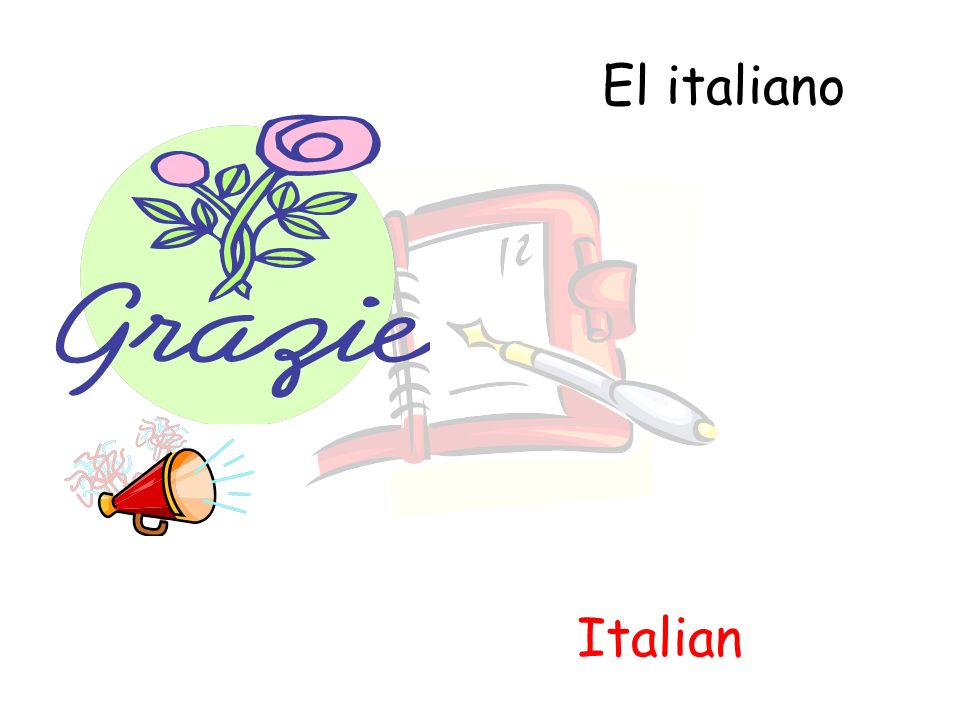 El italiano Italian