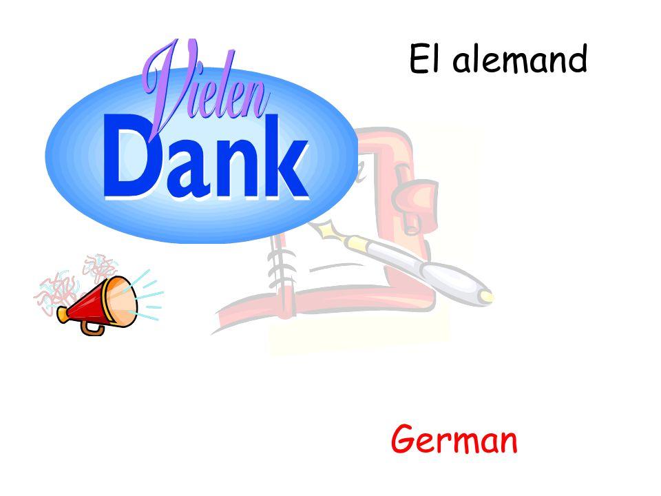 El alemand German