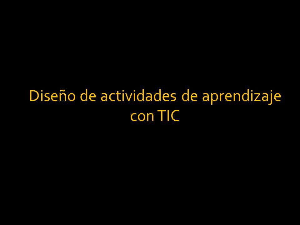 Diseño de actividades de aprendizaje con TIC