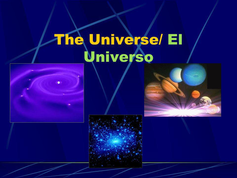 The Universe/ El Universo Pluto is the last planet in our solar system.