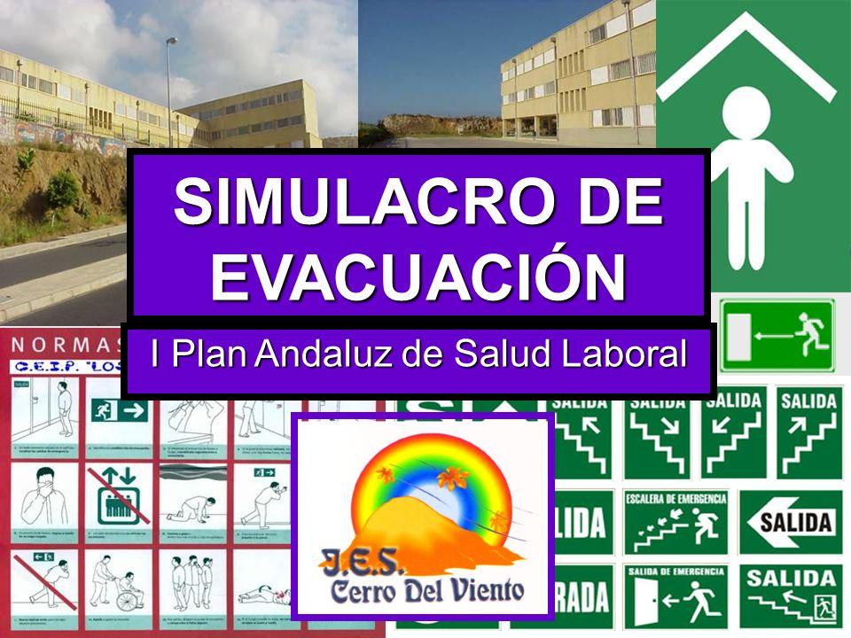 El propósito de un simulacro es el de enseñar al personal del centro a actuar adecuadamente ante una situación de emergencia.