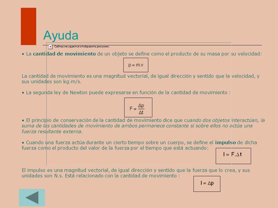 Ayuda Cómo resolver problemas con las leyes de Newton (algoritmo de resolución): 1.