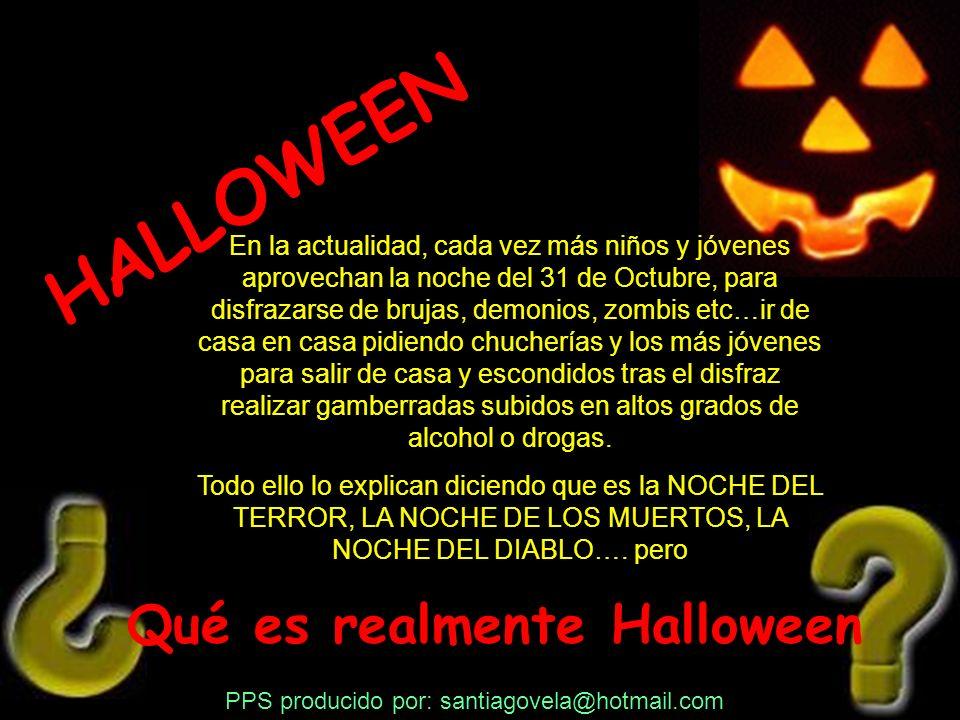 Tradiciones paganas asociadas a Halloween