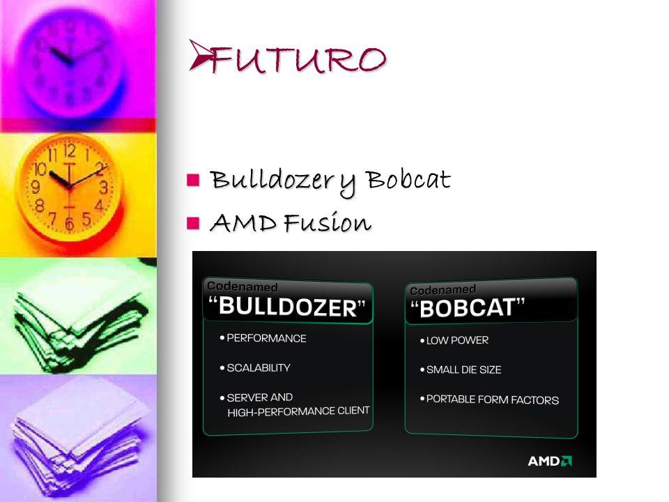 FUTURO FUTURO Bulldozer y Bobcat AMD Fusion