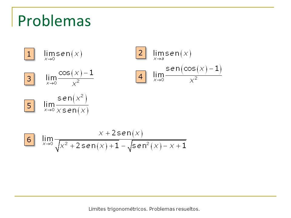 Problemas 1 1 2 2 3 3 4 4 5 5 6 6