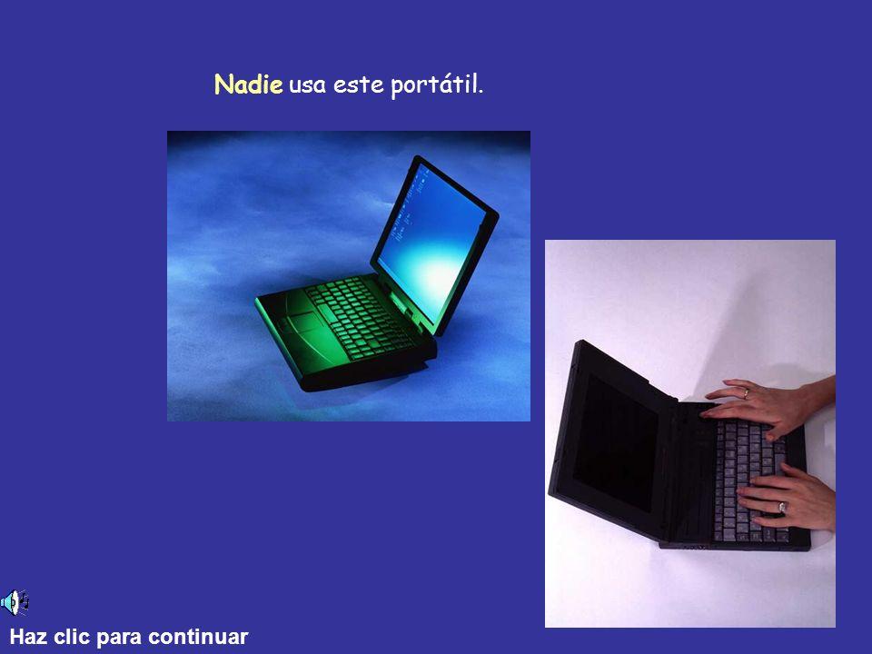 Nadie usa este portátil. Haz clic para continuar