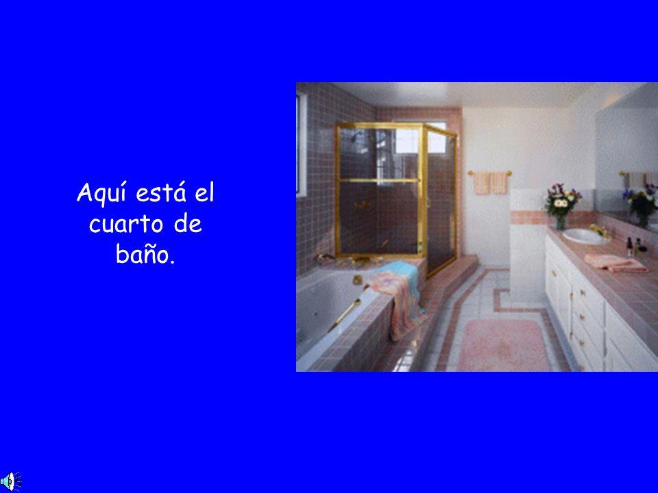 Ésta es la habitación de mis padres.