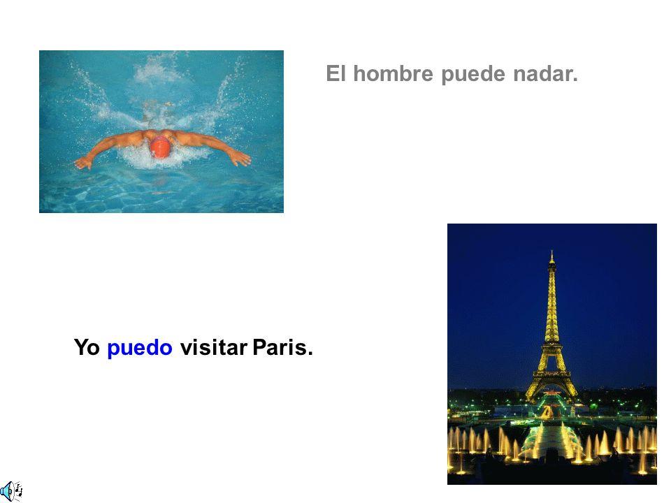Yo puedo visitar Paris.
