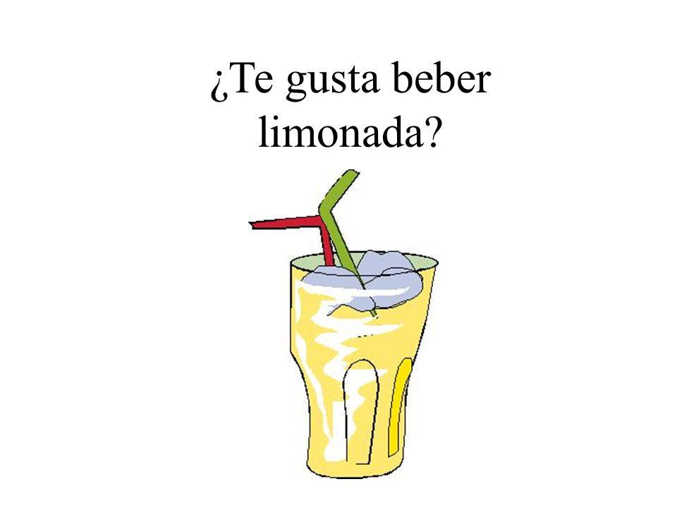 ¿Te gusta beber limonada?