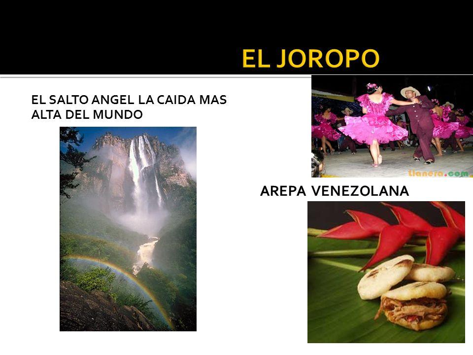 EL SALTO ANGEL LA CAIDA MAS ALTA DEL MUNDO AREPA VENEZOLANA