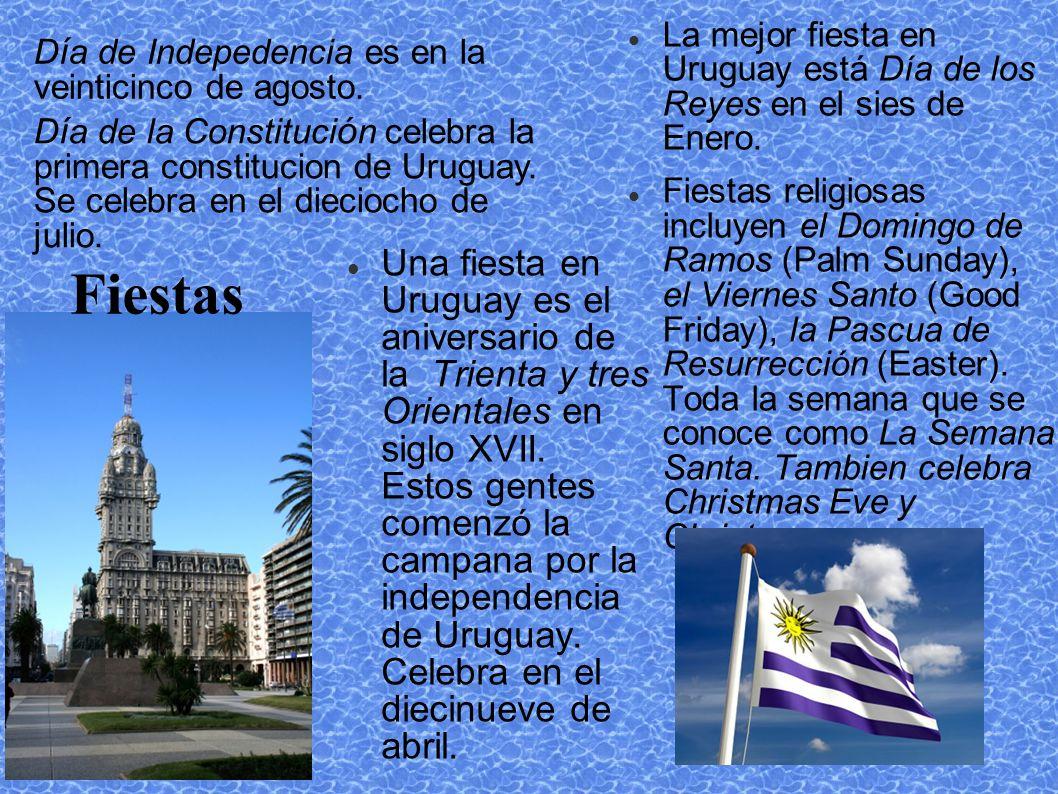 Fiestas La mejor fiesta en Uruguay está Día de los Reyes en el sies de Enero.