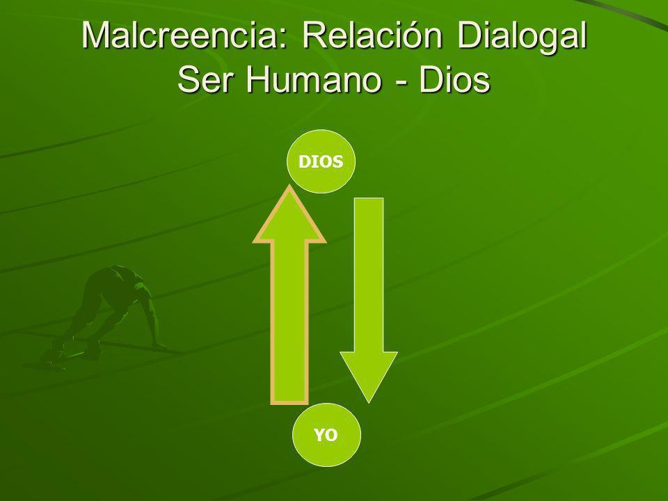 Malcreencia: Relación Dialogal Ser Humano - Dios YO DIOS