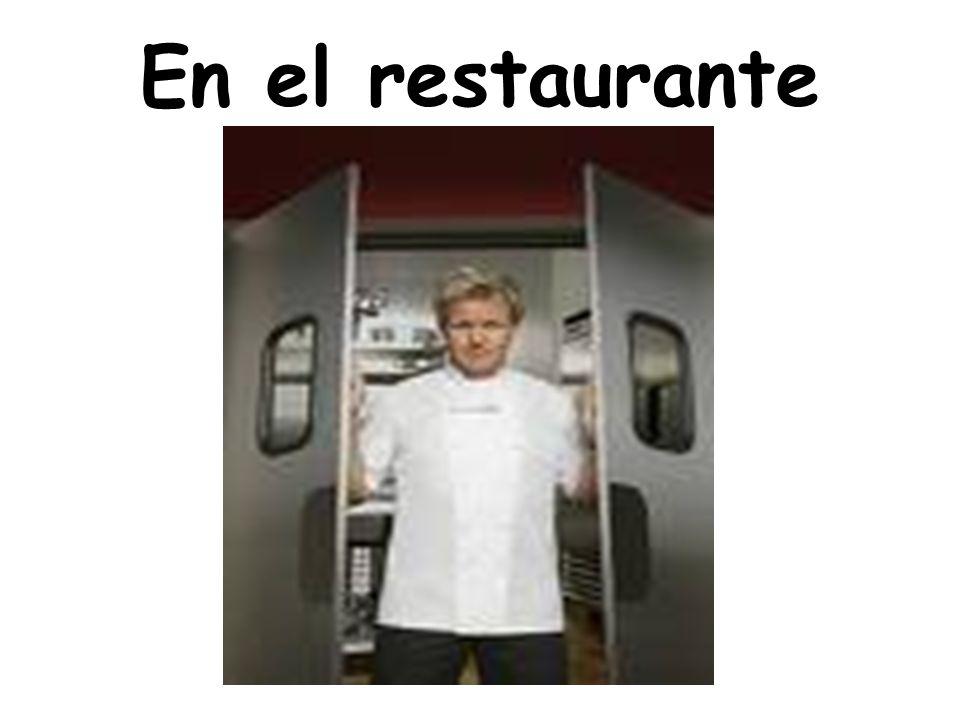 En el restaurante