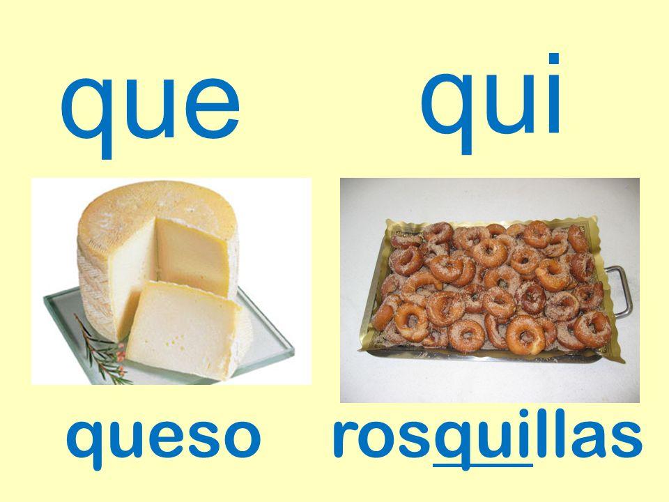 que queso qui rosquillas