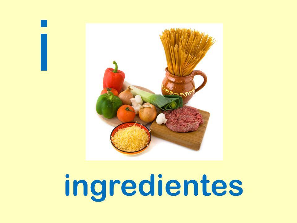 ingredientes i