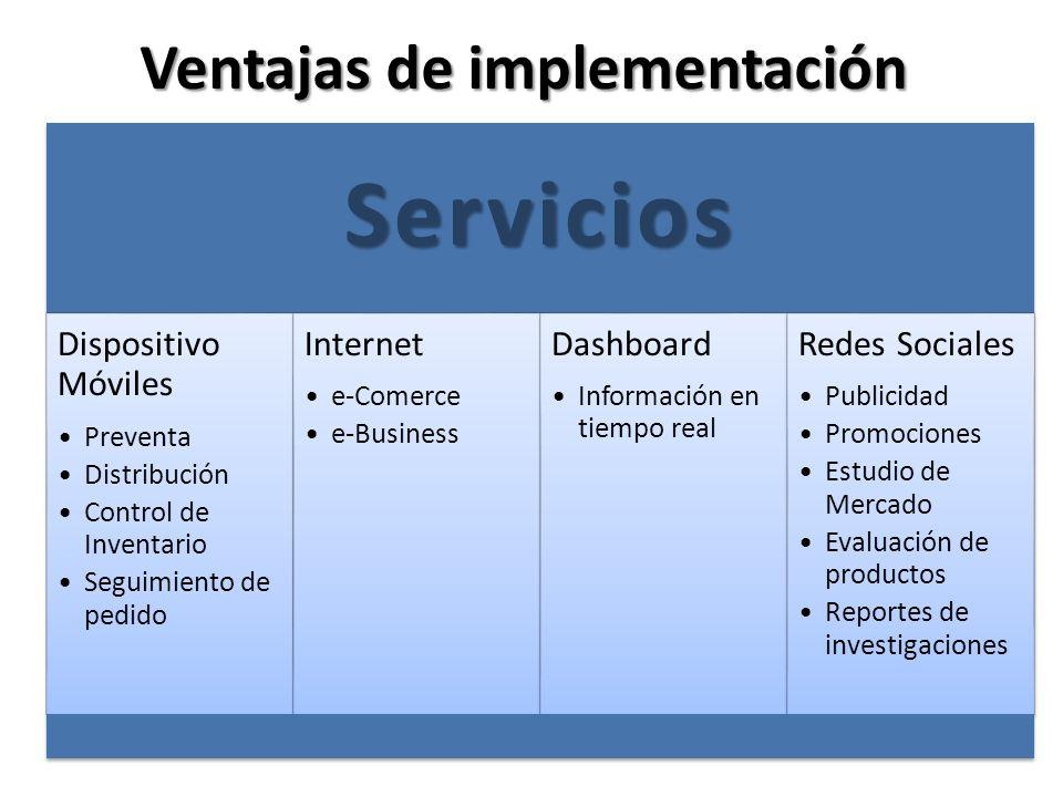 Ventajas de implementación SOAP Integración de sistemas ProveedoresEscalableFacturación Electrónica