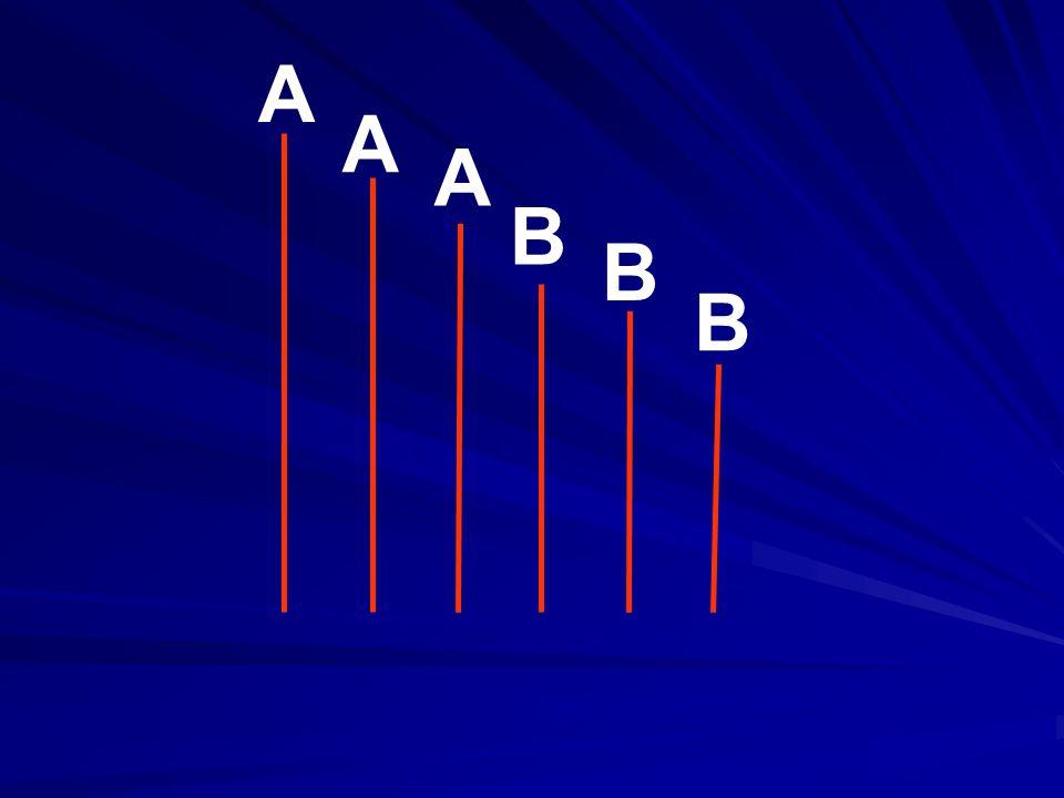 A A A B B B