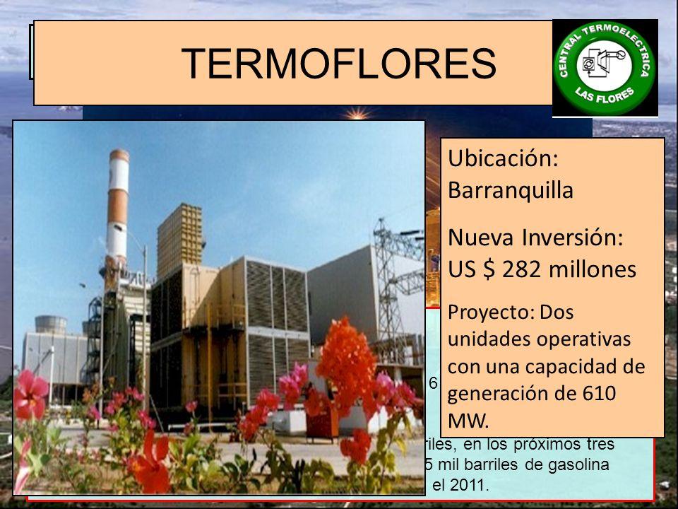 PROYECTOS FACTIBLES BAJO EL REGIMEN DE ZF HOY Proyectos Manufactureros: Refinación Plantas de generación eléctrica Inversión: 3.800 millones de dólare