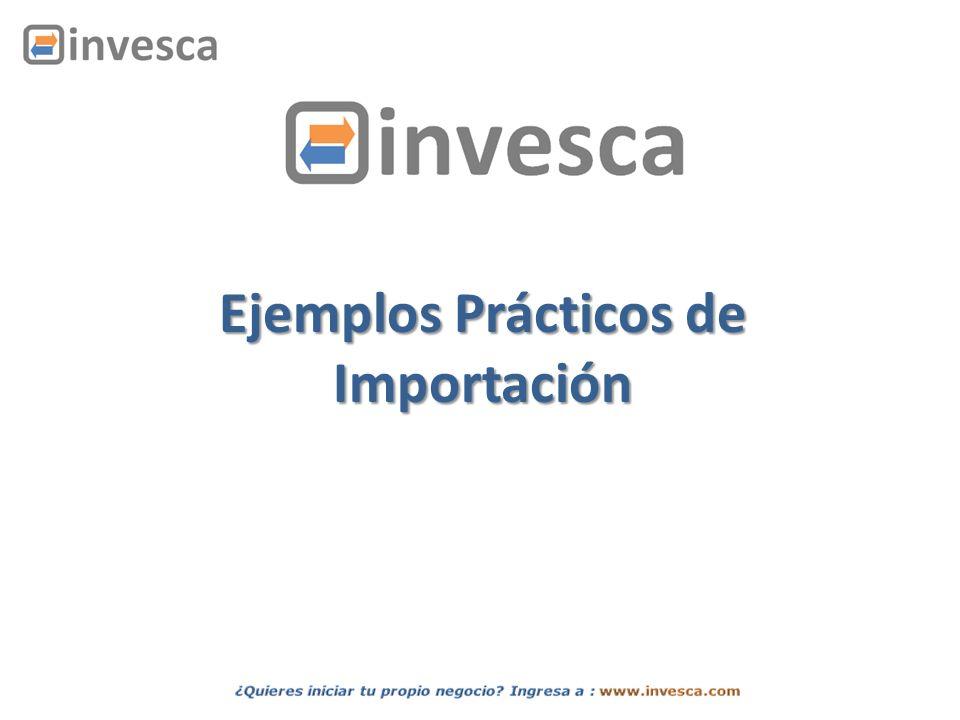 INTRODUCCIÓN En la siguiente presentación veremos dos casos de importación.