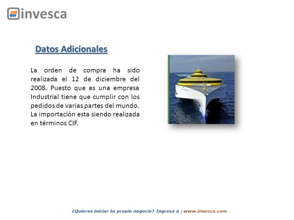 El embarque llega el 07/01/2009 de Arica.