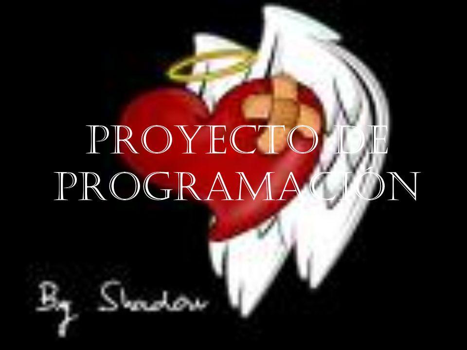 Proyecto de programación