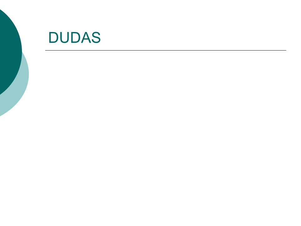 DUDAS